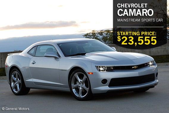 Chevrolet Camaro © General Motors