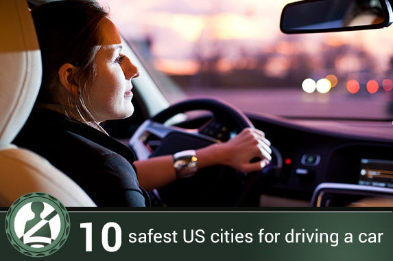 10 safest U.S. cities for driving a car © l i g h t p o e t/Shutterstock.com