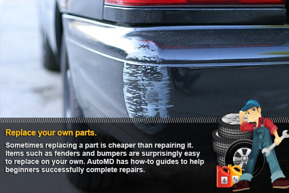 Replace your own parts | © Steve Yager/Shutterstock.com