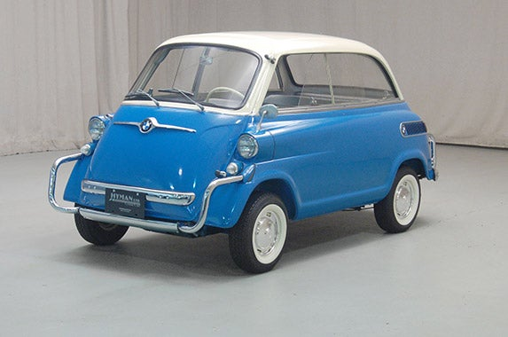 1958-62 BMW Isetta 600 ©Photo courtesy of Hagerty Insurance