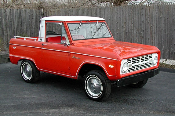 1966-77 Ford Bronco ©Photo courtesy of Hagerty Insurance