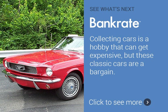 surprisingly valuable classic cars | ©Photo courtesy of Hagerty Insurance