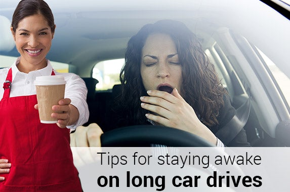 Tips for staying awake driving