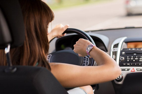 Timing Keep track of how long you've been driving   © Syda Productions Shutterstock.com