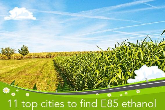 The 11 top cities to find E85 ethanol | © hjschneider/Shutterstock.com