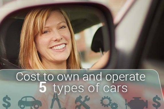 Woman in rear view mirror: © aastock/Shutterstock.com