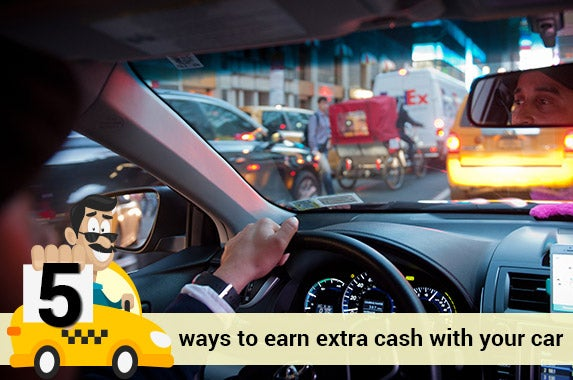 5 Ways To Earn Money With Your Car