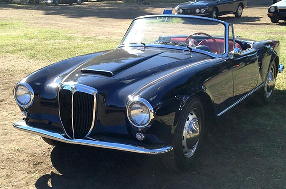 1958 Lancia Aurelia | Photo courtesy of Motor Press Guild