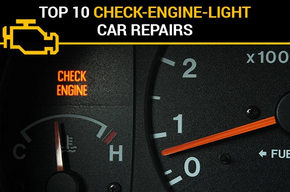 Top 10 check-engine-light car repairs © iStock