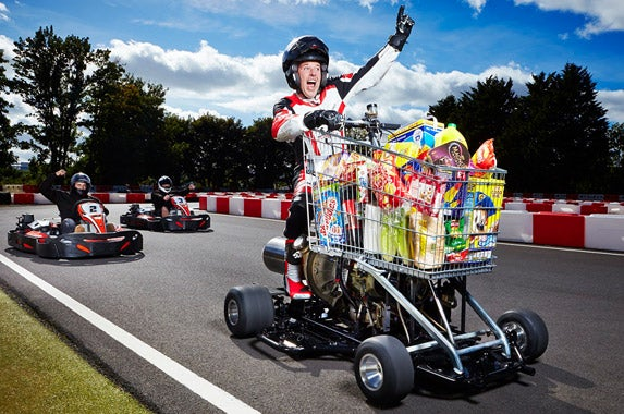 6 vehicles driven to crazy world records for Motorized cart for seniors