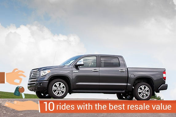 top 10 trucks and suvs with the best resale value. Black Bedroom Furniture Sets. Home Design Ideas