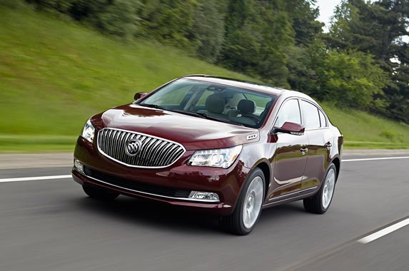 Buick LaCrosse © General Motors