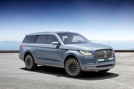 Lincoln Navigator concept SUV | Lincoln