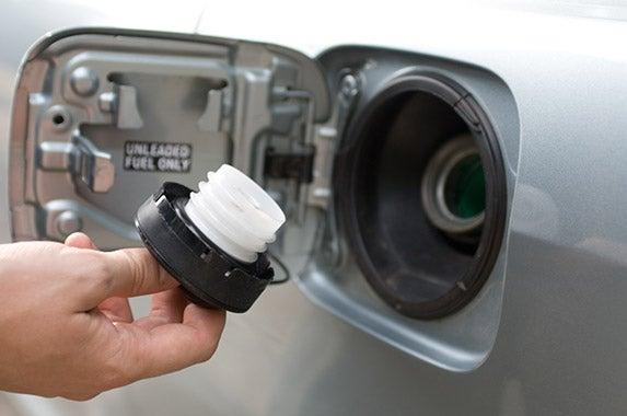 Loose fuel cap © 2xSamara.com