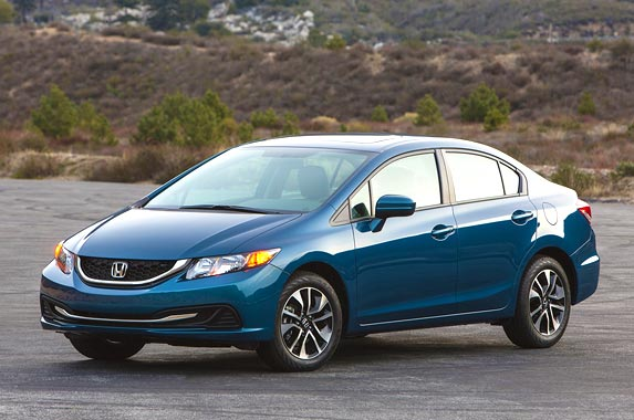 Best certified pre owned cars for Certified used honda civic