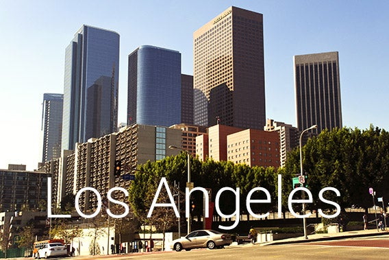 Los Angeles, California © shalunts/Shutterstock.com