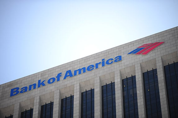 Bank of America Corp. © Alex Milan Tracy/Demotix/Corbis