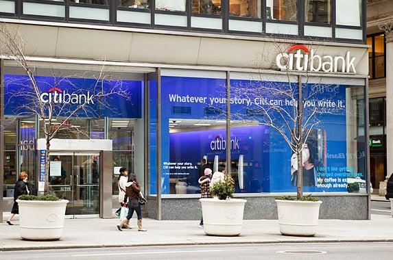 Citibank © iStock