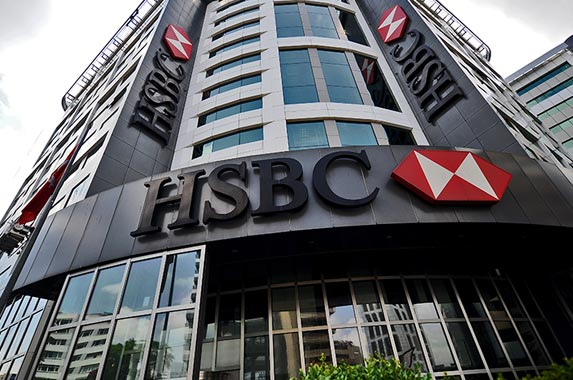 HSBC Holdings | OZAN KOSE/AFP/Getty Images