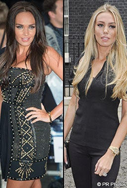 Tamara and Petra Ecclestone