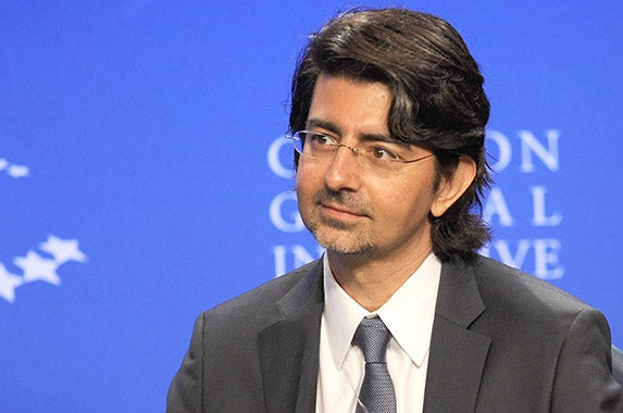 Pierre Omidyar Sharkpixs/ZUMApress/Newscom