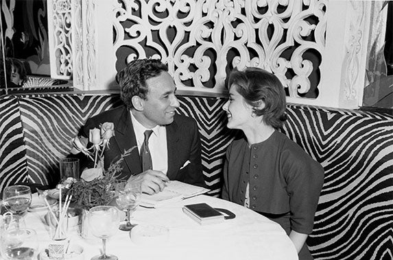 Hartfords dining: © Bettmann/CORBIS