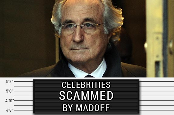 Celebrities scammed by Madoff | TIMOTHY A CLARY/AFP/Getty Images