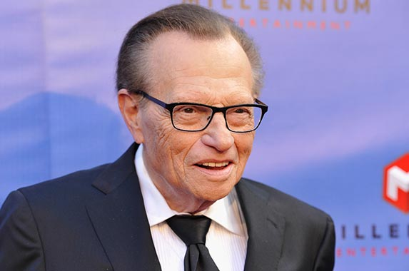 Larry King | Michael Tulberg/Getty Images Entertainment/Getty Images