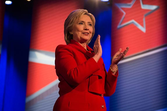 Hillary Clinton | JIM WATSON/AFP/Getty Images