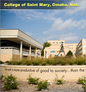 College of Saint Mary, Omaha, Neb.