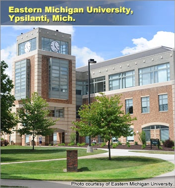 Eastern Michigan University, Ypsilanti, Mich.