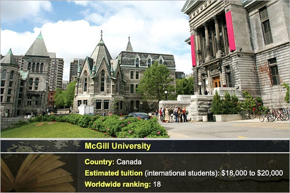 McGill University: © Steve Rosset - Fotolia.com, Background: © Natykach Nataliia/Shutterstock.com