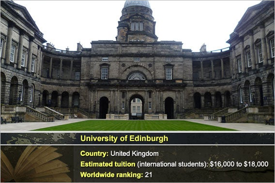 University of Edinburgh: Photo by Kim Traynor, Background: © Natykach Nataliia/Shutterstock.com