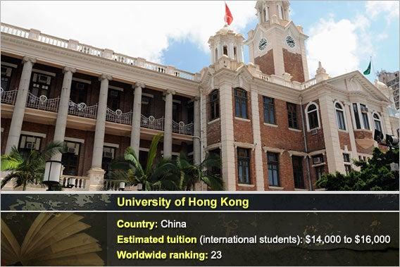 University of Hong Kong: © Norman Chan - Fotolia.com, Background: © Natykach Nataliia/Shutterstock.com