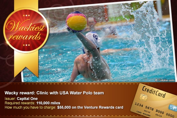Clinic with USA Water Polo team