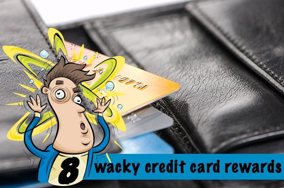 8 wacky credit card rewards © Vlad Nordwing/Shutterstock.com