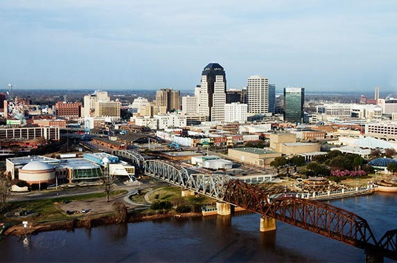 Shreveport, Louisiana | Jeremy Woodhouse/Getty Images