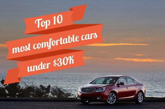 10 most comfortable cars under 30k. Black Bedroom Furniture Sets. Home Design Ideas