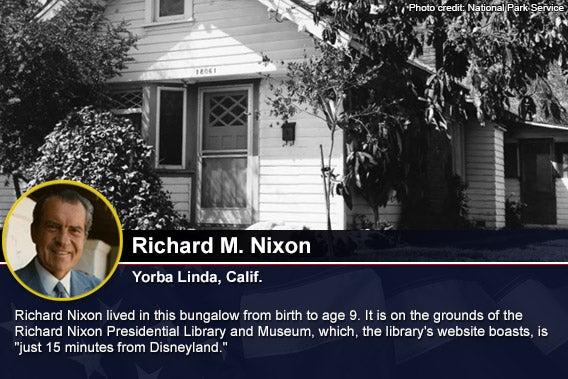 Richard Nixon Photo credit National Park Service