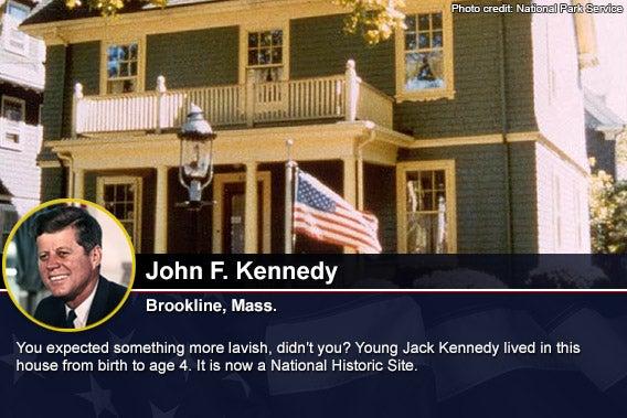 John F Kennedy Photo credit National Park Service