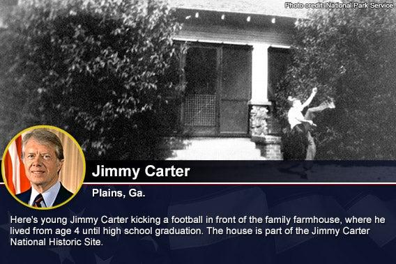 Jimmy Carter Photo credit National Park Service