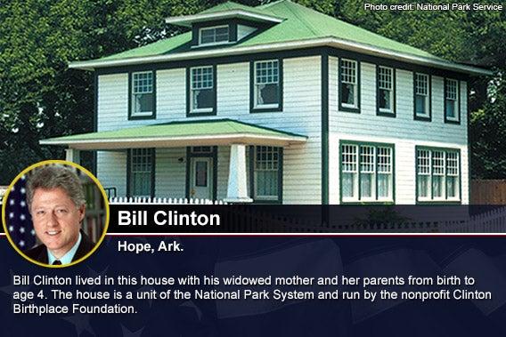 Bill Clinton Photo credit National Park Service