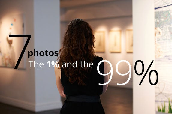 The 1% and the 99% © iStock