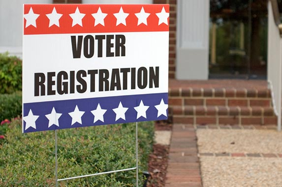 Voter registration breach © iStock.com/GordonsLife