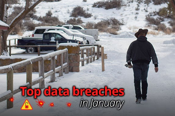 January data breaches | ROB KERR/AFP/Getty Images