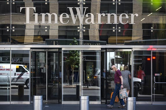 Time Warner | Andrew Burton/Getty Images