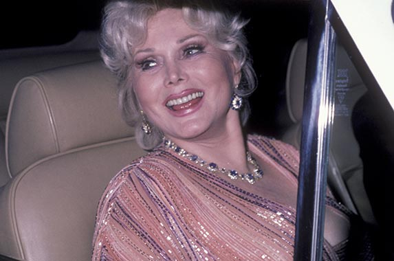 Zsa Zsa Gabor | Matthew Eisman/Getty Images