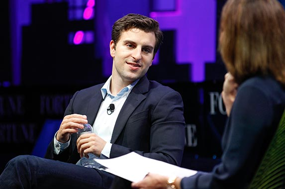 Brian Chesky | Kimberly White/Getty Images