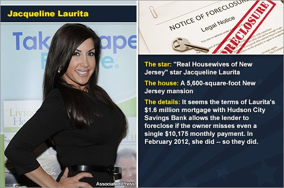 Jacqueline Laurita  Associated Press, foreclosure document:  zimmytws/Shutterstock.com