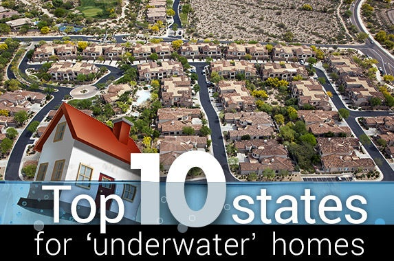 Arizona aeriel view: © Tim Roberts Photography/Shutterstock.com; House underwater:© Lightspring/Shutterstock.com